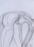 Body pattern by Juliet Eardley, Drawing, Graphite on paper