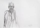 George by Juliet Eardley, Drawing, Graphite on paper