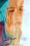 Jolie by Juliet Eardley, Painting, Mixed Media on paper