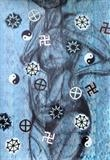O GOD !!! by Juliet Eardley, Painting, Mixed Media on paper